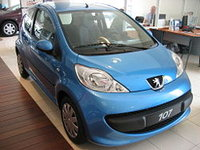 2007 Peugeot 107 Picture Gallery