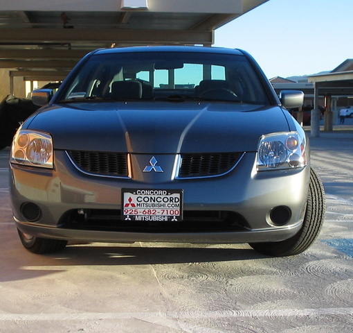 2008 Mitsubishi Galant Interior: 2004 Mitsubishi Galant