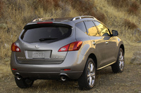 2009 Nissan Murano, back, exterior, manufacturer