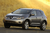2009 Nissan Murano, side, exterior, manufacturer
