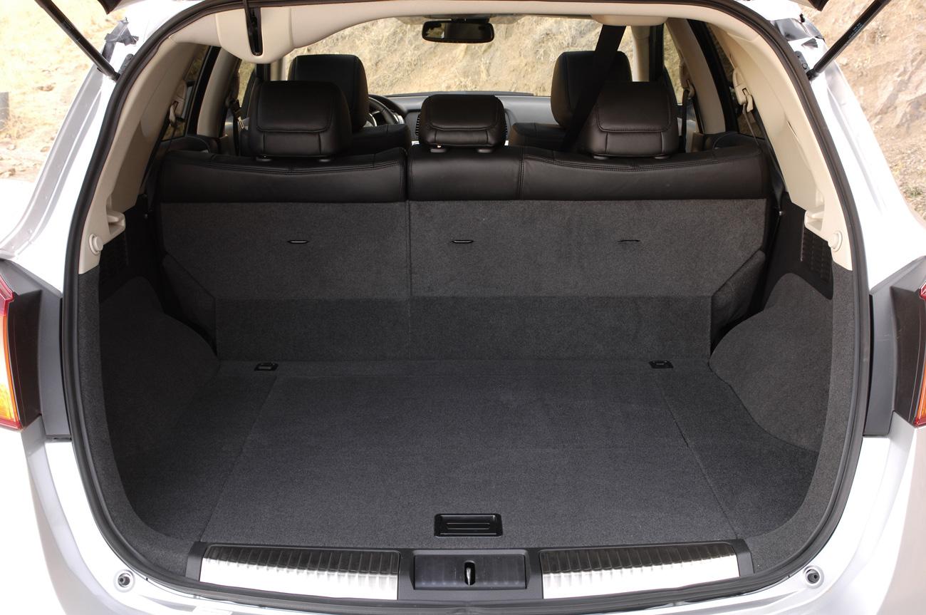 2009 Nissan Murano, trunk, interior