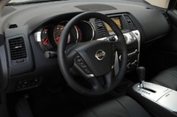 2009 Nissan Murano, steering wheel, interior