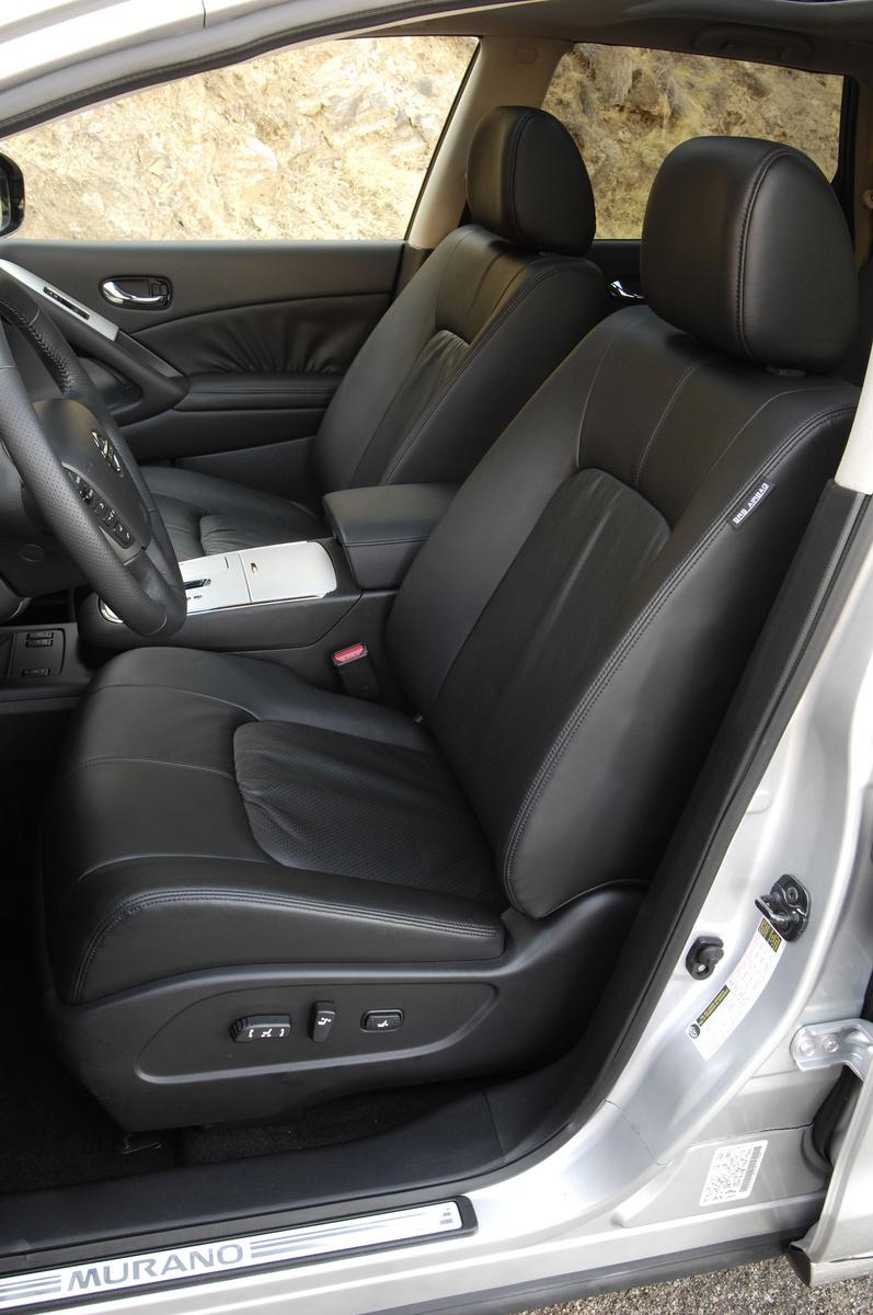 2009 Nissan Murano, driver's seat, interior