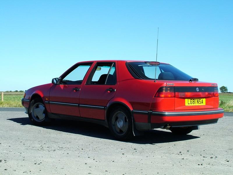 saab 9000 turbo. 1994 Saab 9000