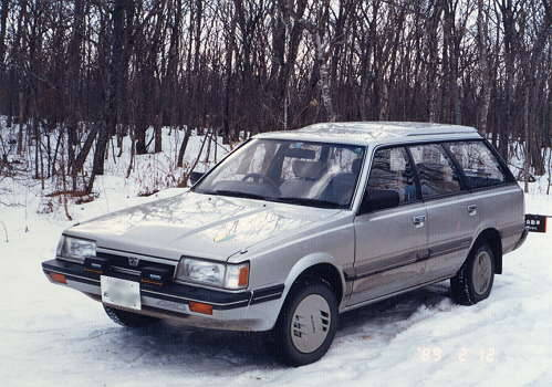 Subaru Loyale. 1990 Subaru Loyale picture