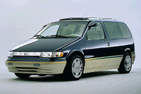 1995 Mercury Villager 3 Dr GS Passenger Van picture