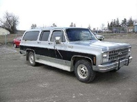 1980 Chevrolet Suburban, My old family cruiser