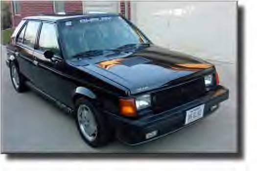 1990 Dodge Omni 4 Dr America Hatchback picture
