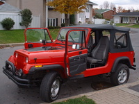 1992 Jeep Wrangler STD, 1992 Jeep Wrangler 2 Dr STD 4WD Convertible picture