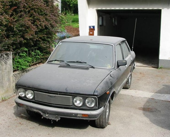 1981 Fiat 132, 2.0 1980. in garage for past 2yrs