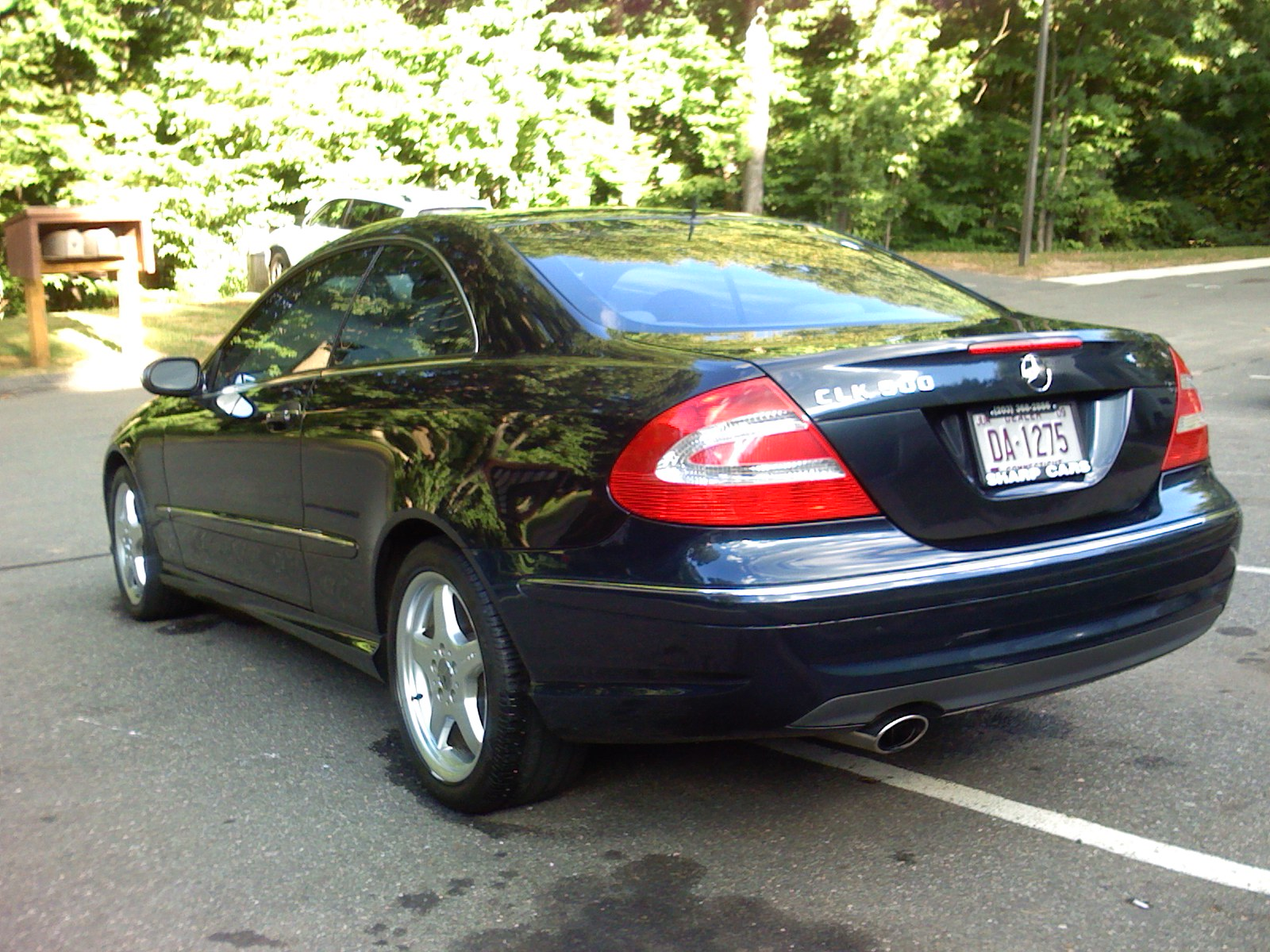 picture of 2004 mercedes benz clk class 2 dr clk500 coupe