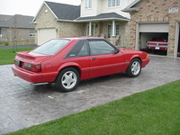 1993 Ford Mustang LX 5.0 Hatchback, Picture of 1993 Ford Mustang 2 Dr LX 5.0 Hatchback