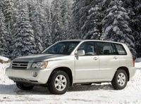 2002 Toyota Highlander Picture Gallery