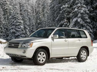 2002 Toyota Highlander Base V6 4WD picture