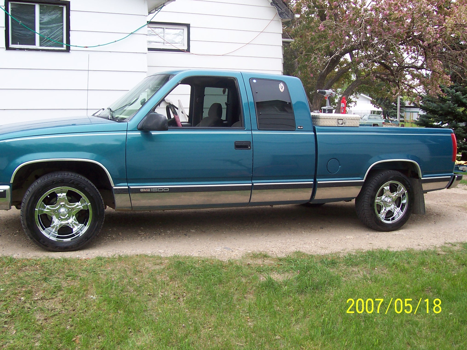 GMC Sierra 1500 2 Dr C1500 SLE Extended Cab SB - Pictures - 1997 GMC ...