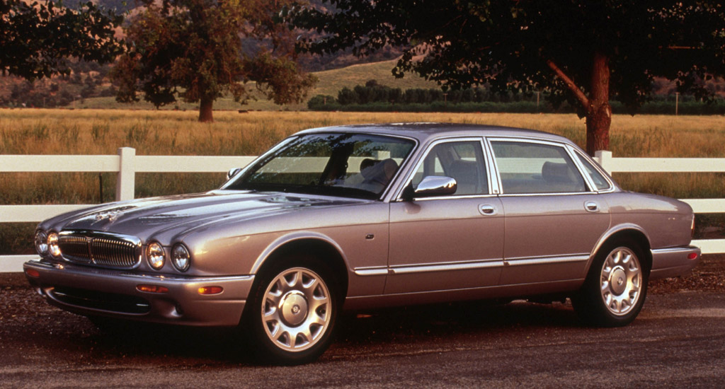 2002 Jaguar Xj Series 4 Dr Super V8 Supercharged Sedan Pic 18754