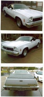 1973 Chevrolet El Camino, Deluxe wheels, 350 engine, council shift, 63000 miles actual