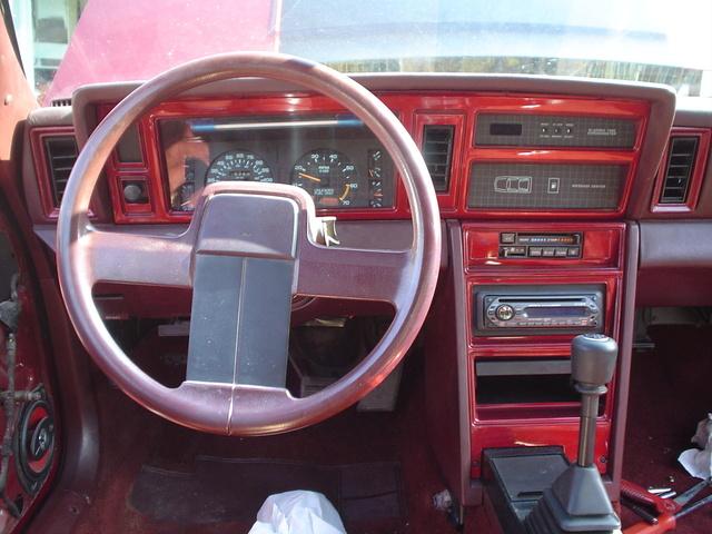 1986 Dodge Daytona Interior Pictures Cargurus