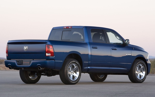Picture of 2009 Dodge Ram 1500, exterior, gallery_worthy