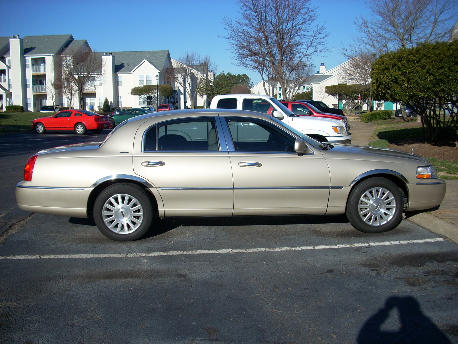 Lincoln Town Car Signature Pic on On A 2000 Lincoln Ls Suspension Problems
