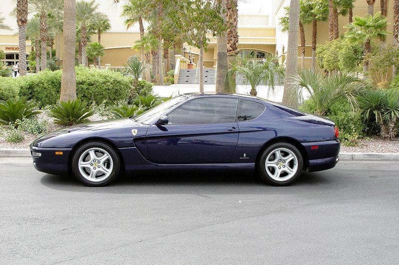 2001 Ferrari 456M 2 Dr GT Coupe picture, exterior