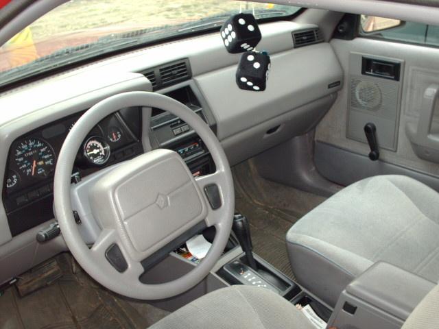 1993 Dodge Shadow Interior Pictures Cargurus