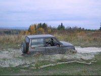 1990 Suzuki Sidekick 2 Dr JX 4WD SUV, SS in the water