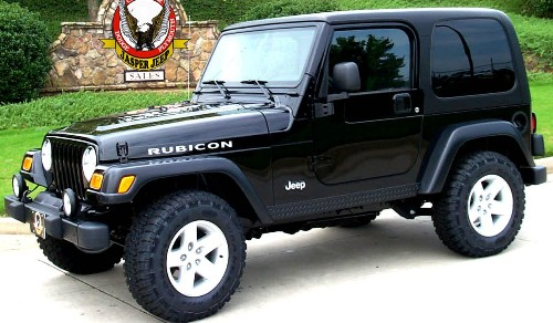 2006 Jeep Wrangler Unlimited Rubicon Towing