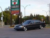 1992 Mercedes-Benz 500-Class 500SEL Sedan, 1992 Mercedes-Benz 500-Class 4 Dr 500SEL Sedan picture, exterior
