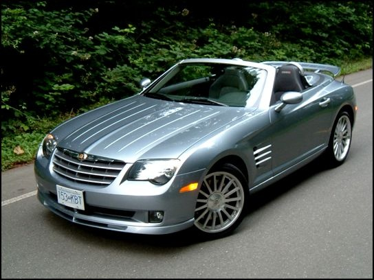 Chrysler Crossfire Srt 6 Overview Cargurus