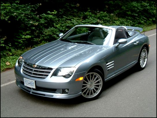Chrysler Crossfire Roadster. 2006 Chrysler Crossfire SRT-6