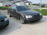 1992 Mercedes-Benz 500-Class 500SEL Sedan, 1992 Mercedes-Benz 500-Class 4 Dr 500SEL Sedan picture