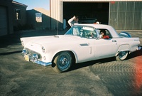 1956 Ford Thunderbird-my Dad's car, exterior