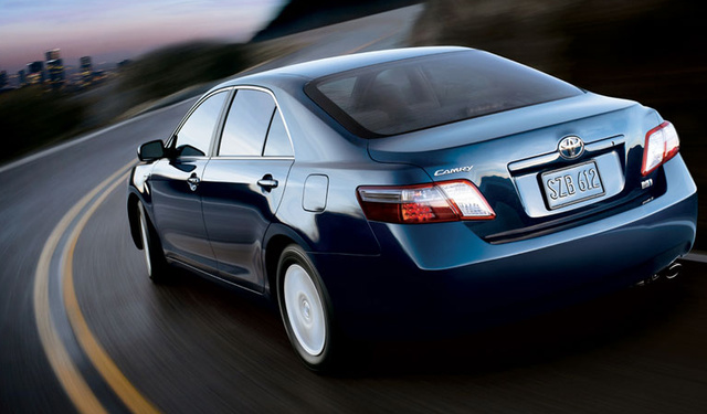 2009 Toyota Camry, back view, exterior, manufacturer