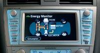 2009 Toyota Camry, hybrid energy monitor, interior, manufacturer