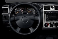 2008 Chevrolet Colorado, steering wheel, interior, manufacturer