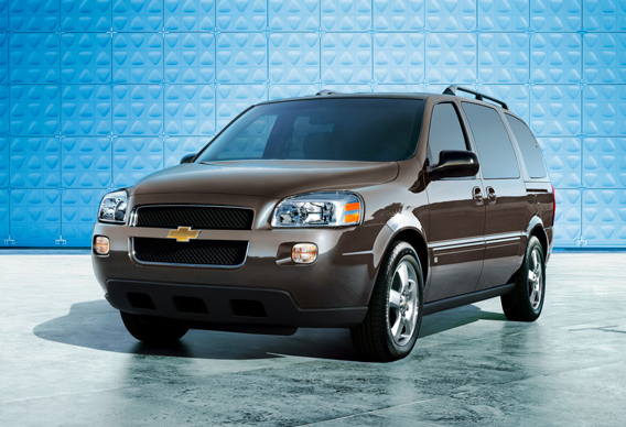 2008 Chevrolet Uplander, front view, exterior, manufacturer, gallery_worthy