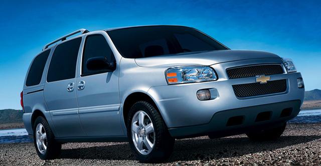 2008 Chevrolet Uplander, 08 Chevy Uplander, exterior, manufacturer