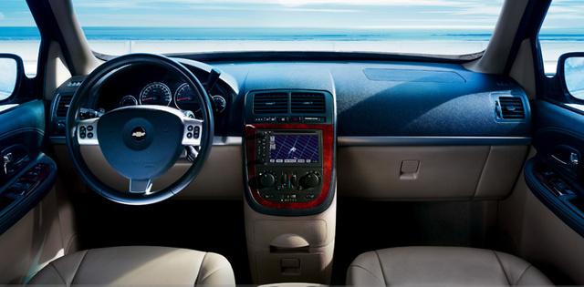 2008 Chevrolet Uplander, dashboard, interior, manufacturer