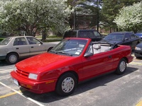 1993 Dodge Shadow 2 Dr ES Convertible picture