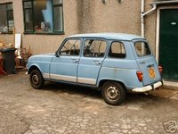 1980 Renault 4,  Renault 4 internet, exterior