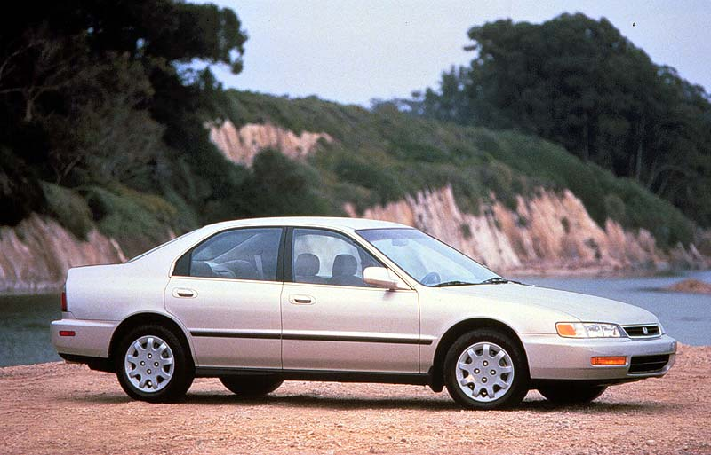 1997 Honda Accord EX V6, 1997 Honda Accord 4 Dr EX V6 Sedan picture