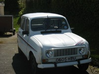1985 Renault 4 Overview