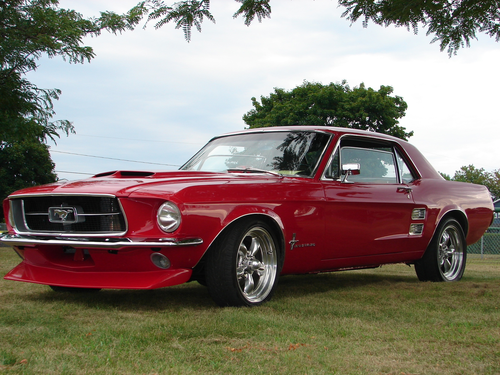 1967 Mustang Coupe Red