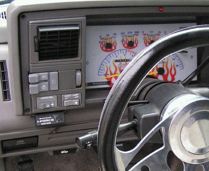 Chevrolet Blazer Questions What Do The Two Switches