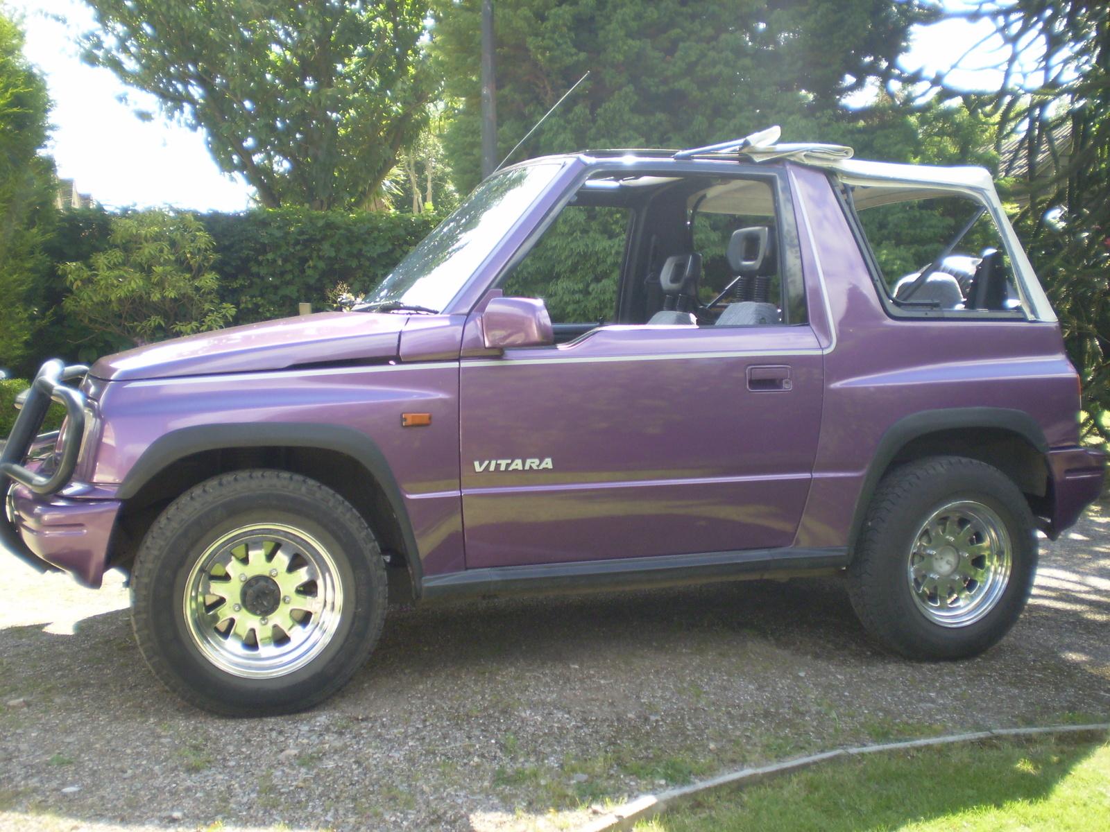 Picture of 1999 suzuki vitara 2 dr jx 1 6 4wd convertible exterior