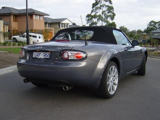 2006 mx 5 specifications