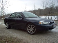 1999 Ford Contour 4 Dr SE Sedan picture, exterior