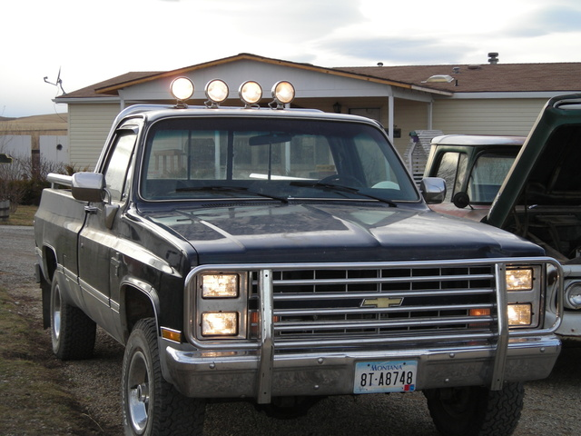 1988 chevy silverado 4x4 value