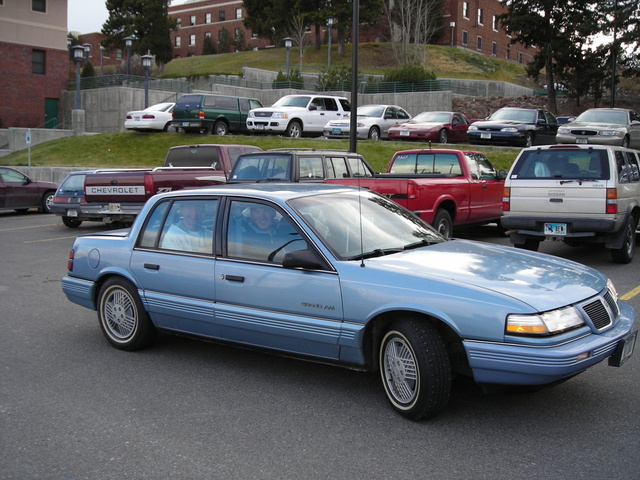 Picture of 1991 Pontiac Grand Am 4 Dr LE Sedan, gallery_worthy